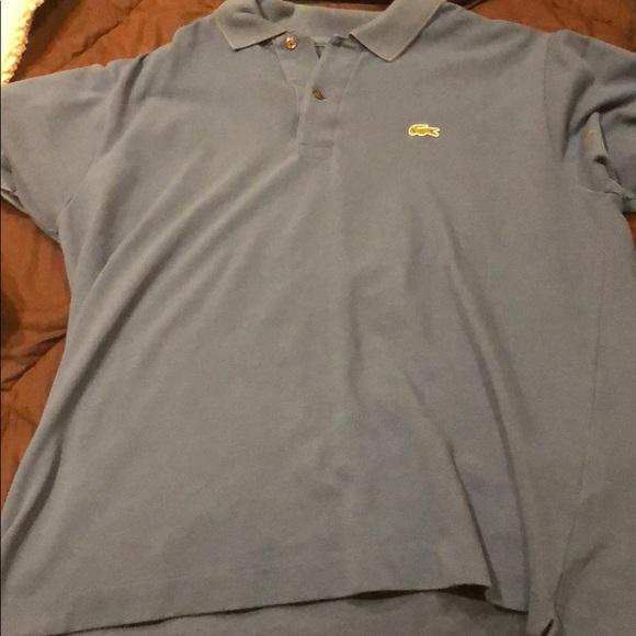 111018e9 Lacoste size 5 Polo